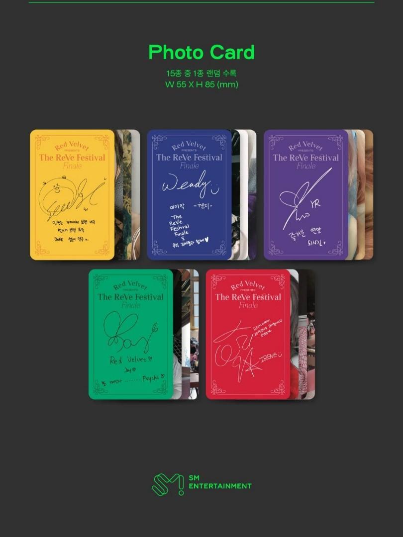 Red Velvet The ReVe Festival Finale (Scrapbook Ver.)