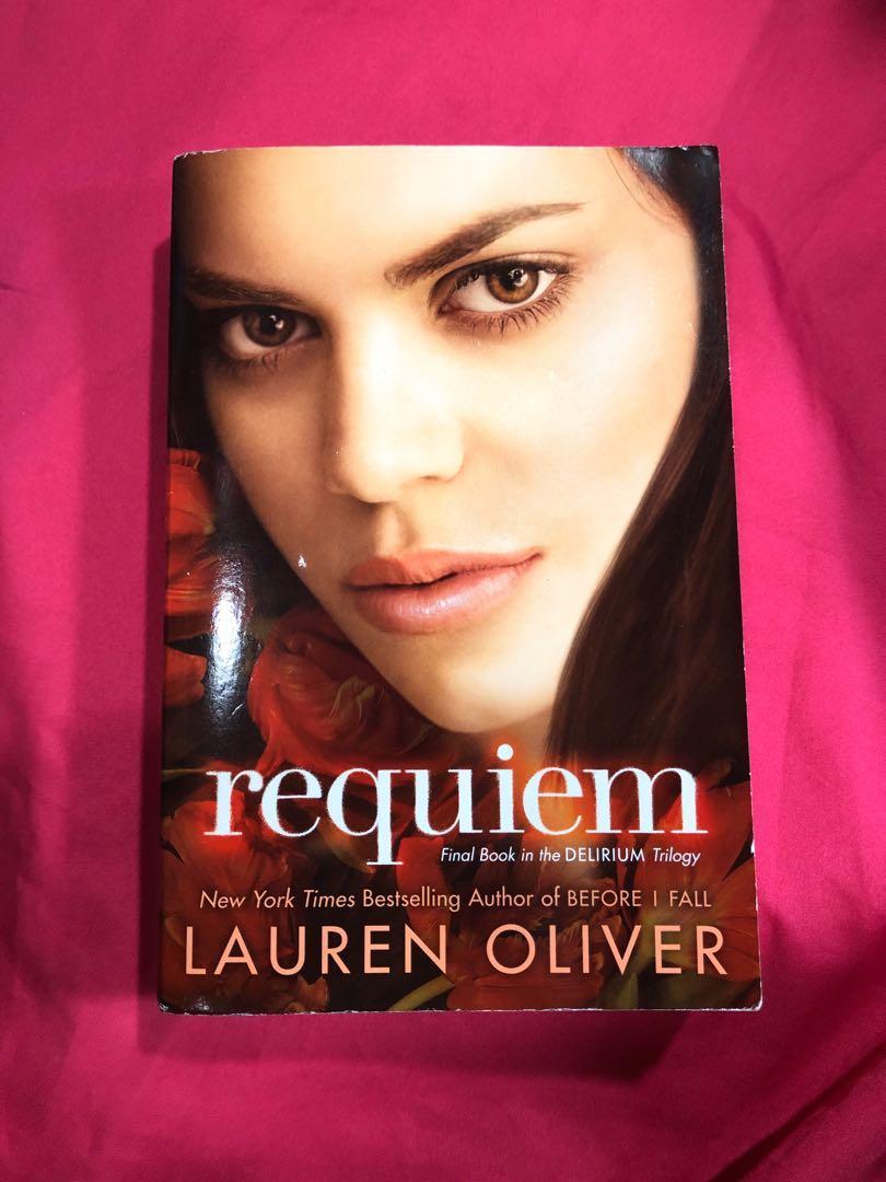 Requiem by Lauren Oliver (Final book in the Delirium Trilogy)