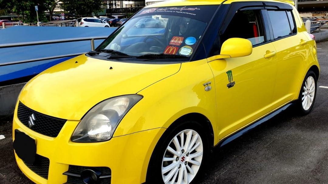 SUZUKI SWIFT (SG CAR VOMPLETE DOCUMENT, HALAL DI ATAS JALAN RAYA MALAYSIA)