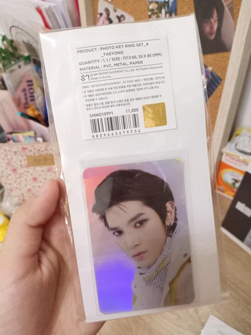 Taeyong & Jaehyun We Are Superhuman holo pc with keyring