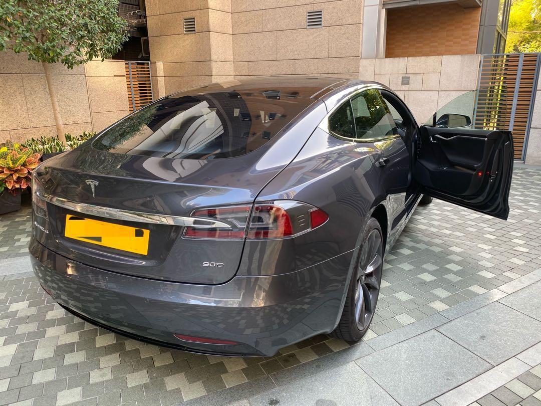 Tesla Model S 90D All Wheel Drive Auto