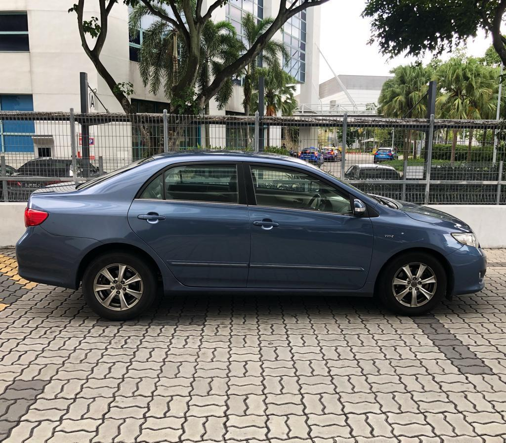 Toyota Altis CHEAPEST CAR RENTAL for Grab GoJek or Personal use