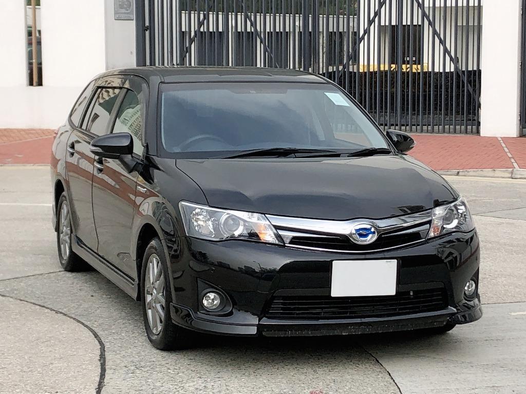 Toyota    Corolla  AXIO FIELDER WXB   2015 Auto