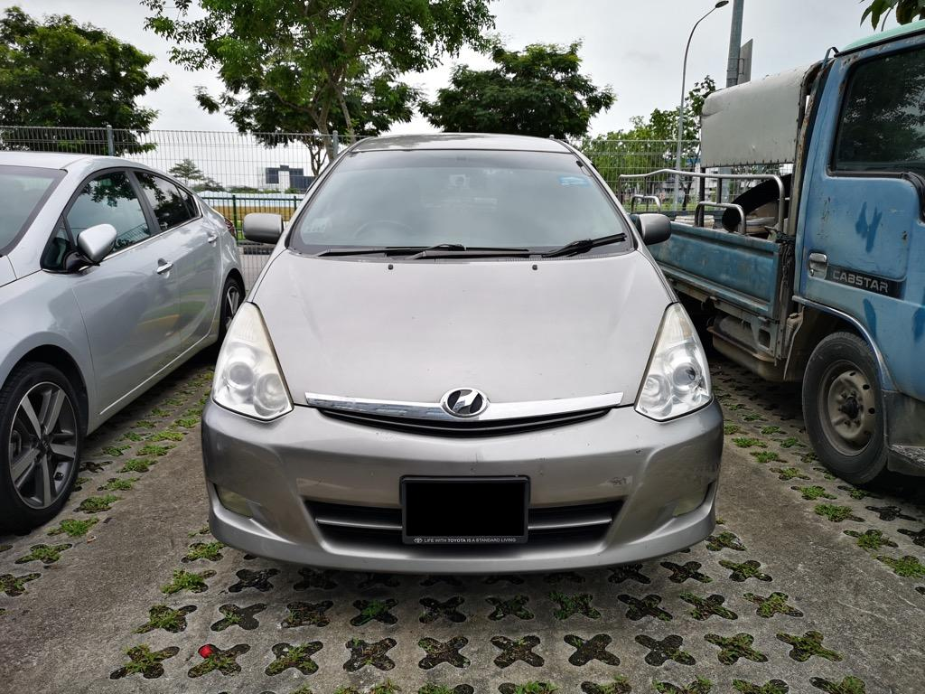Toyota Wish Cheap Car Rental for Grab