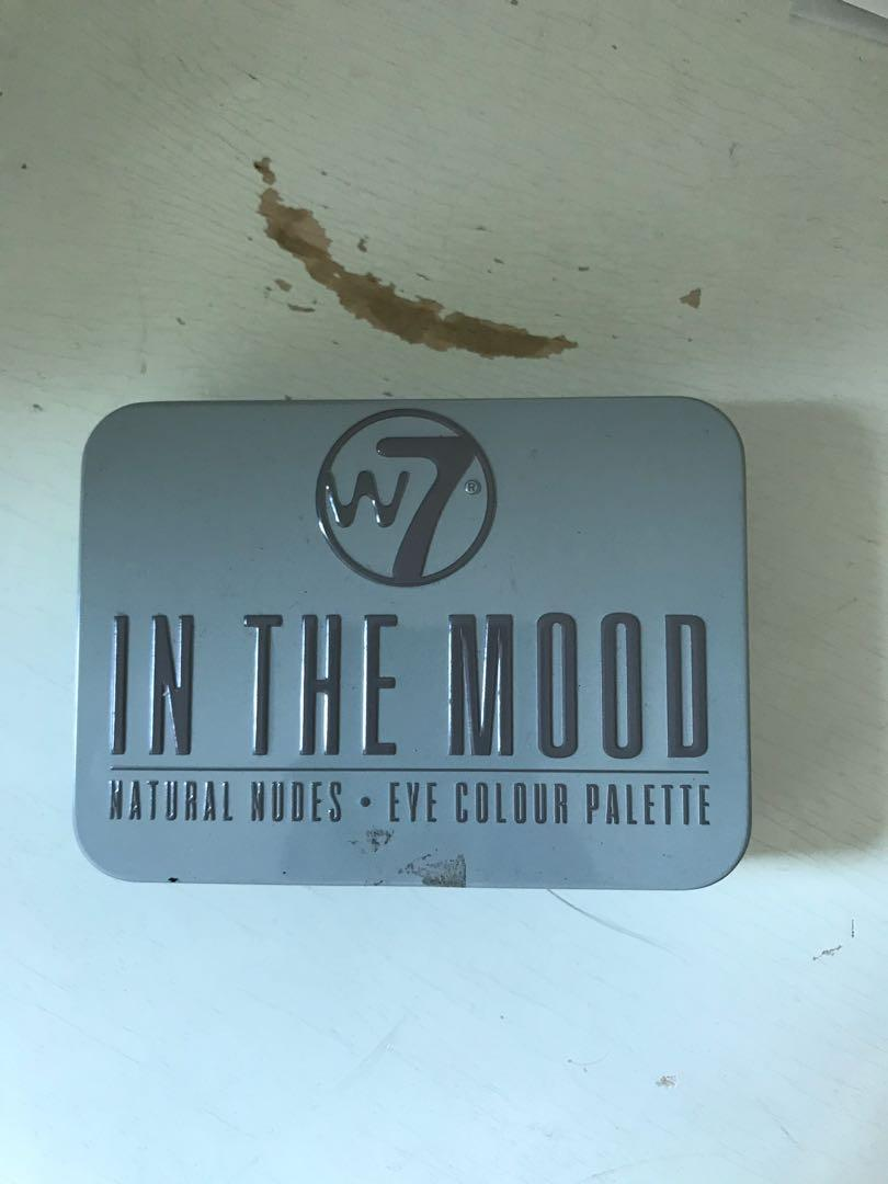 W7 - In the Mood - (UD Dupe!) / London eyes - BOTH Brand new!
