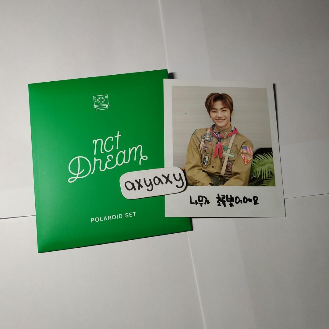 [WTS] NCT DREAM : Summer Vacation Polaroid jaemin + envelope