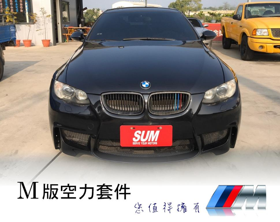 07年 BMW 寶馬 335ci 3.0 雙門 M版 雙渦輪 香菇頭 要帥 要把妹 非你莫屬 超貸20萬 皆可辦理