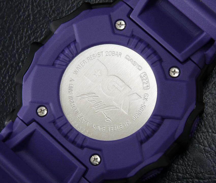 100% Authentic brand new sealed Casio G-Shock GX-56 DGK gx56dgk King Band, Bezel & Back Cover Set super rare