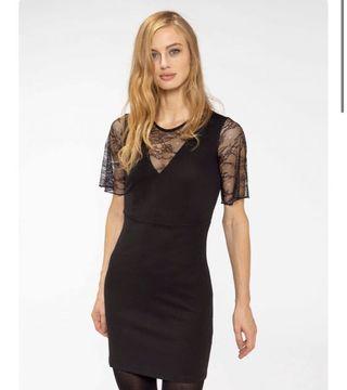 Terranova Black Lace Bodycon Dress