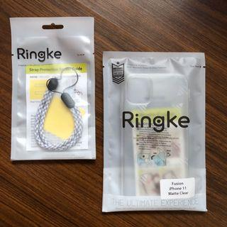 Ringke Fusion iPhone 11 Clear Matte Case