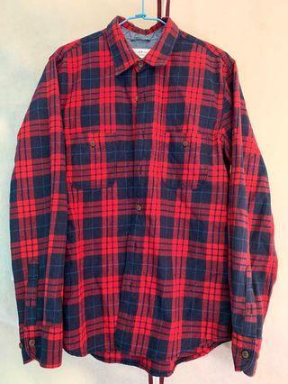 50%紅色襯衫(M