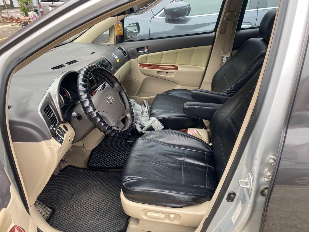 2006年豐田Wish E版 雙天窗 7人座 休旅車  車況不錯 可長途 短暫營業過 改回自用好幾年  便宜賣 8萬 桃園龍潭 0902155901