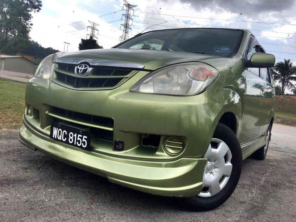 2007 Toyota AVANZA 1.3 E (M) B/L LOAN KEDAI DP 1-2k