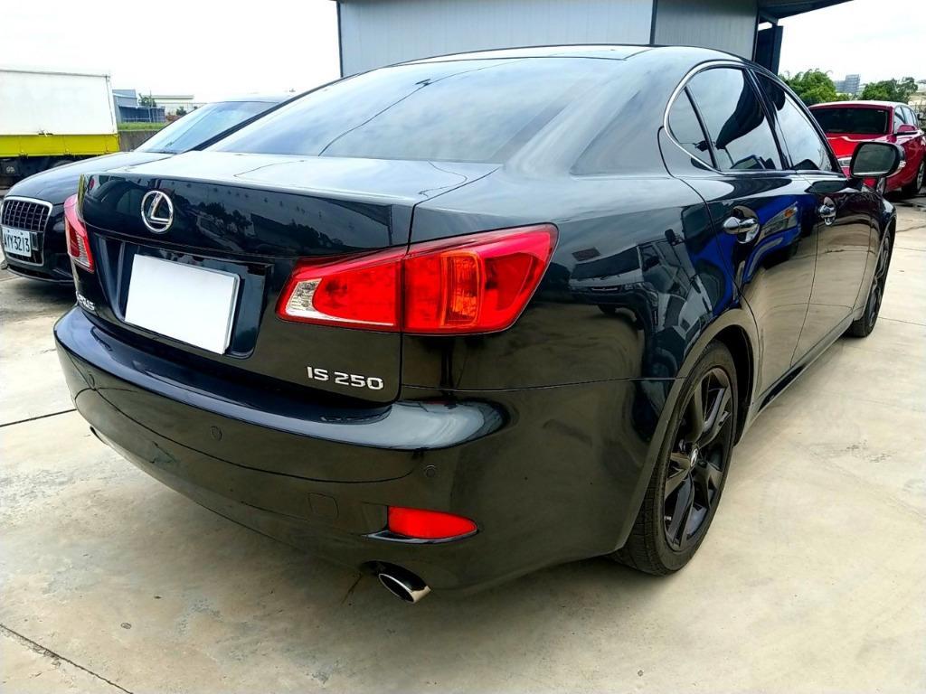 2008年 Lexus 凌志 IS250 新型 小改款 頂級NAVI IKEY 換檔撥片 純跑10萬 過件快 可貸7年