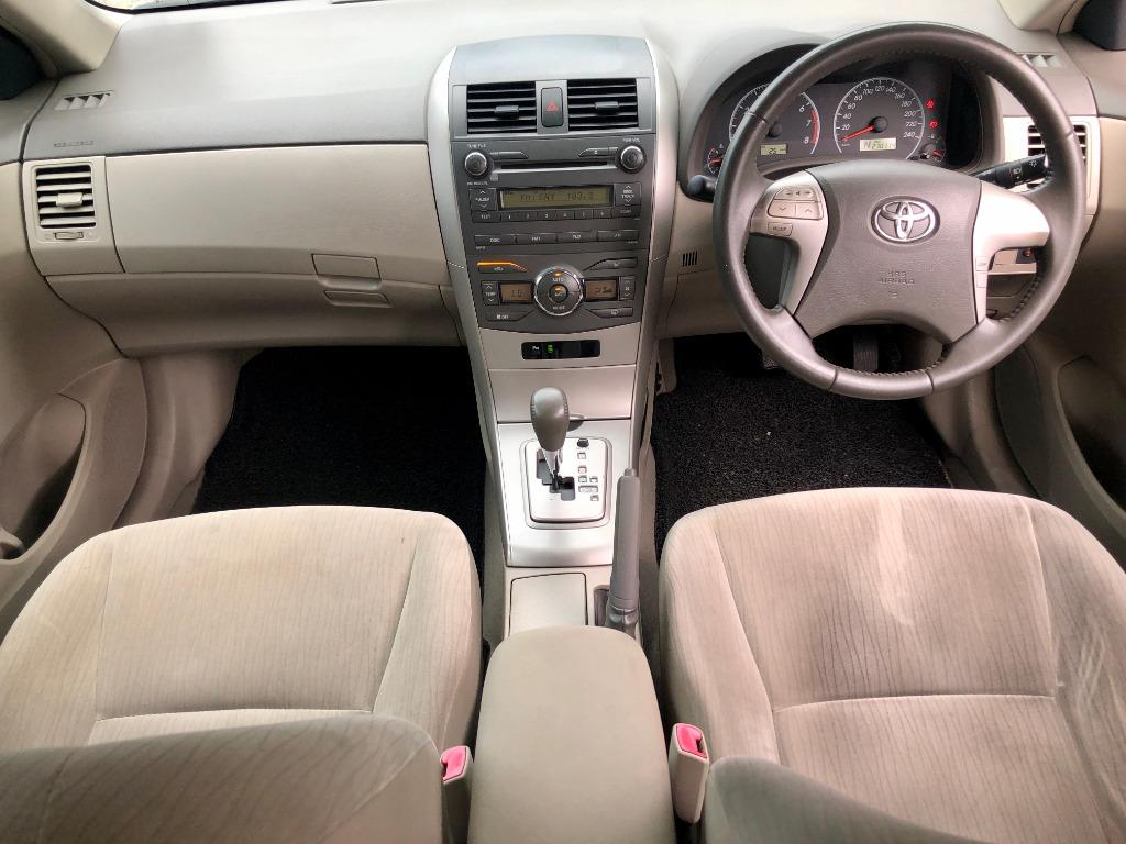 2010 Toyota Corolla Altis 1.8 E  (A) NEW YEAR SUPER OFFER PROMOTION