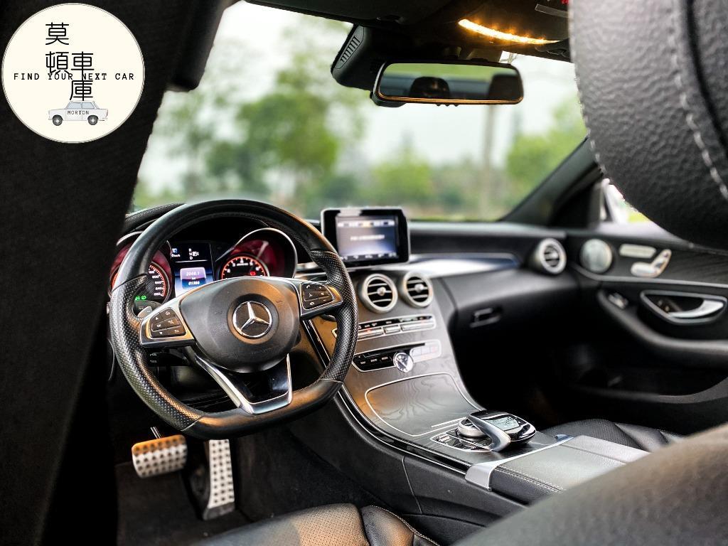 2015年 Benz W205 C300 63包 AMG 雙魚眼 柏林知音 全景天窗 已認證 脫單趁現在