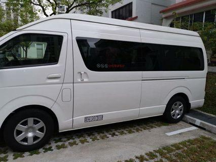 Airport transport /pax transfer (6 to 13 seaters)