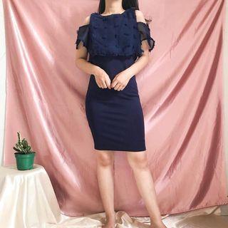 Kalila Rubi Dress Navy