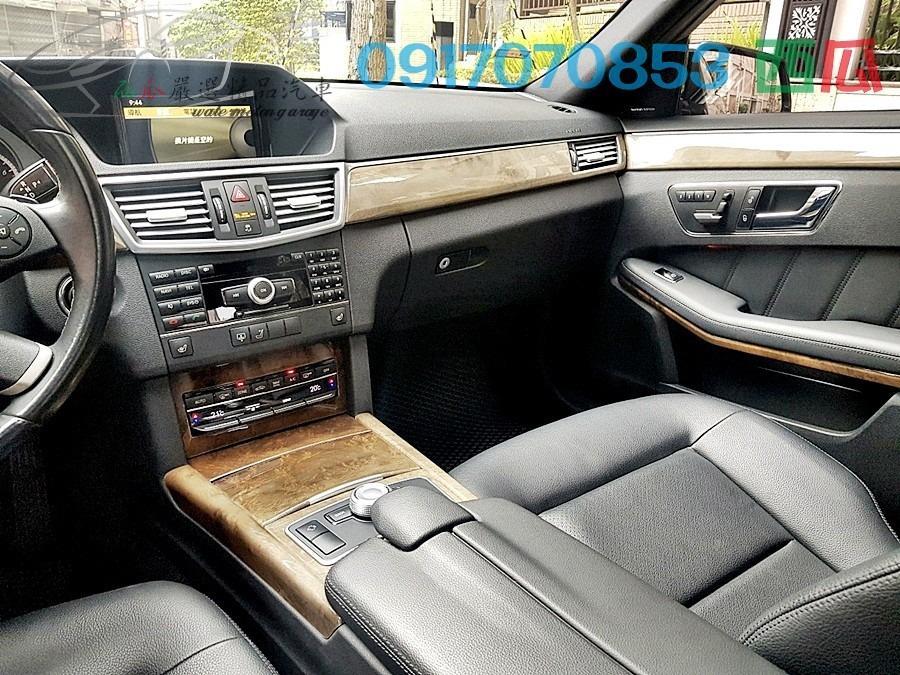 新車價393萬 一手車僅跑九萬 2010年 BENZ E350 HARMAN 音響 大螢幕 換檔切片 天窗