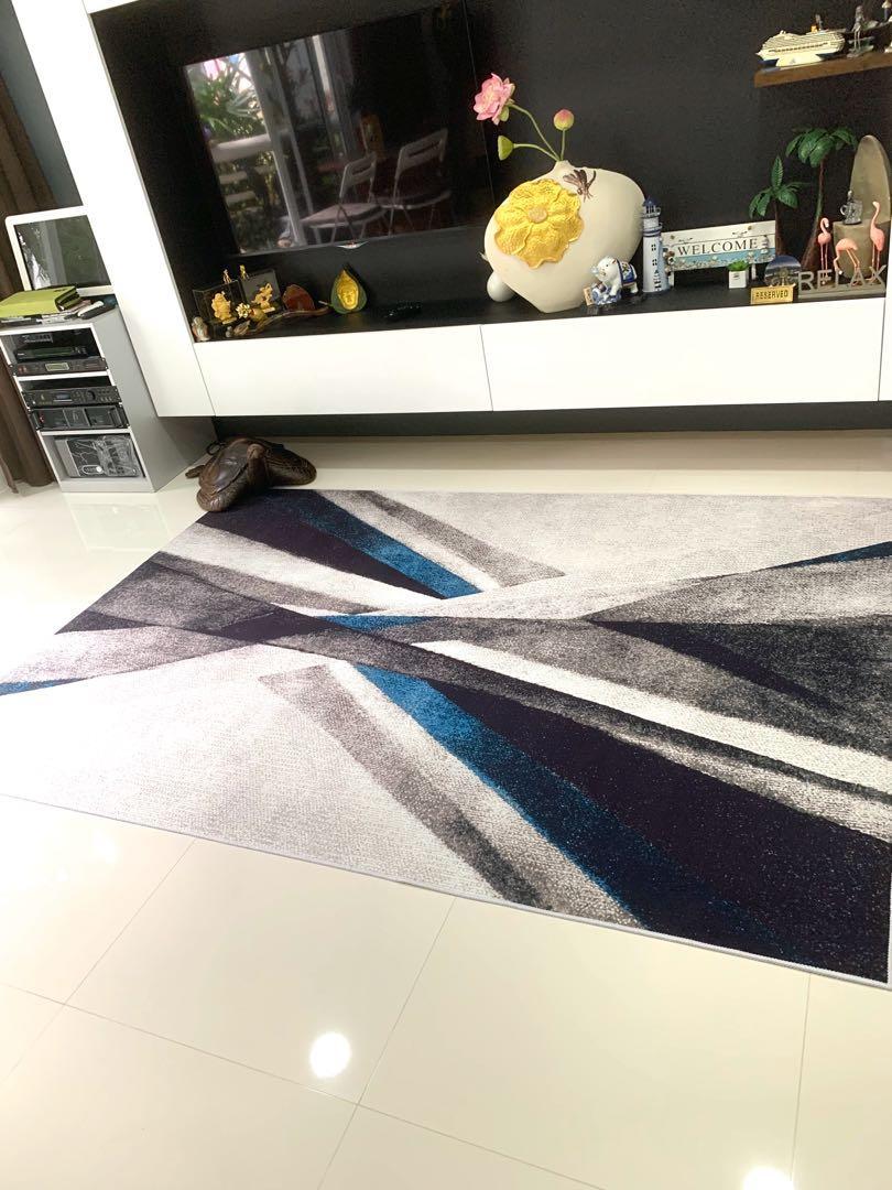 4m x 2m designer carpet/rug- super