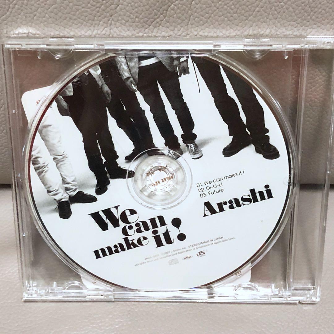 罕有!嵐 Arashi 日版初回Single「We can make it!」單曲