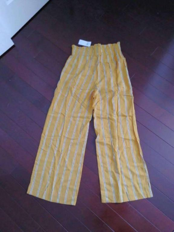 Abercrombie high waisted, wide leg pants - Women's XS