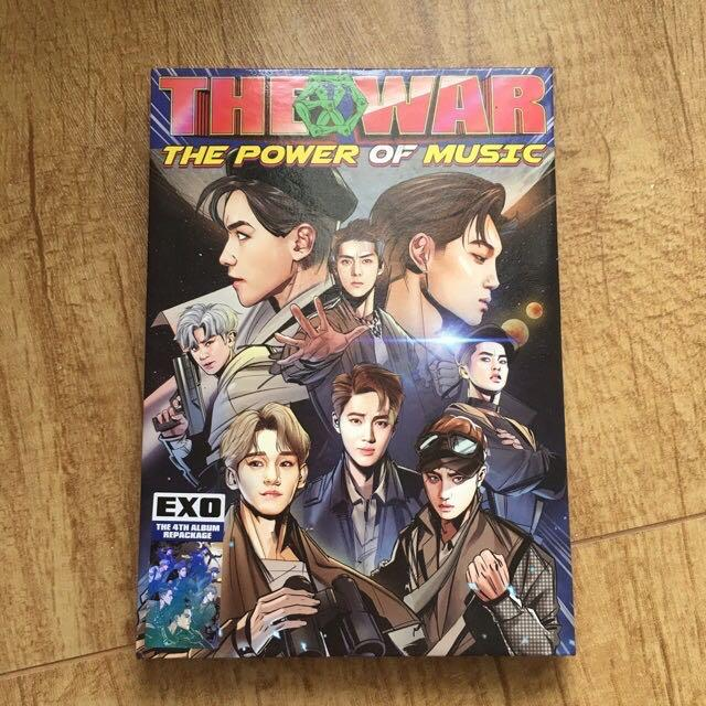 [Album NO PC] EXO - The War: The Power of Music (baca deskripsi!)
