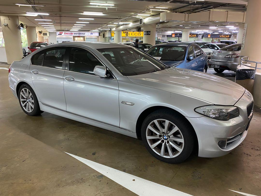 BMW F10 523 2.5A For rent lease rental leasing short and Long term