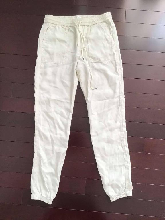 Gap cream joggers - Women's S (fits more like a M/28)