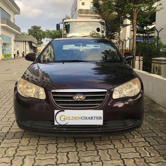 Hyundai Avante 1.6A For Rental ! Gojek | Grab | Personal