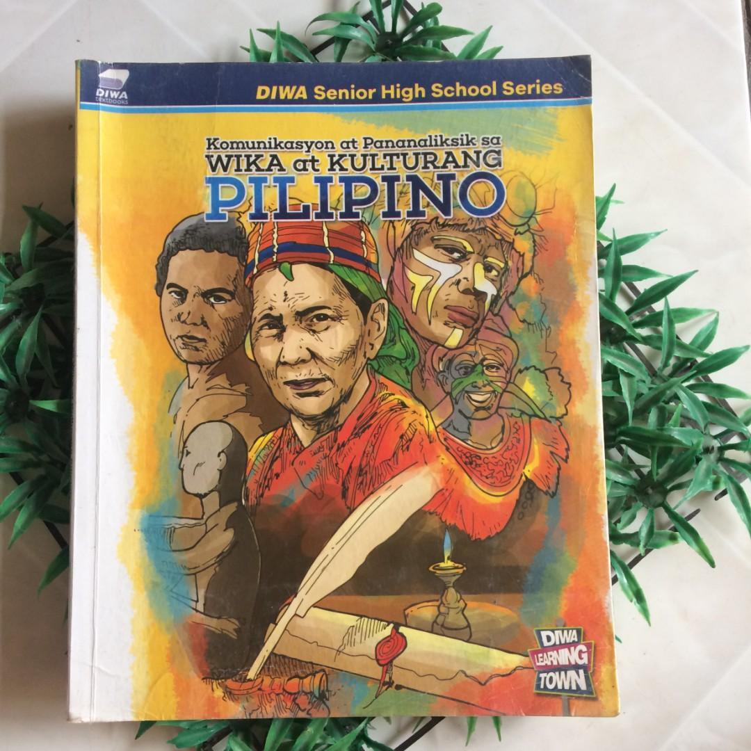 Komunikasyon at Pananaliksik sa  Wika at Kulturang Pilipino Book
