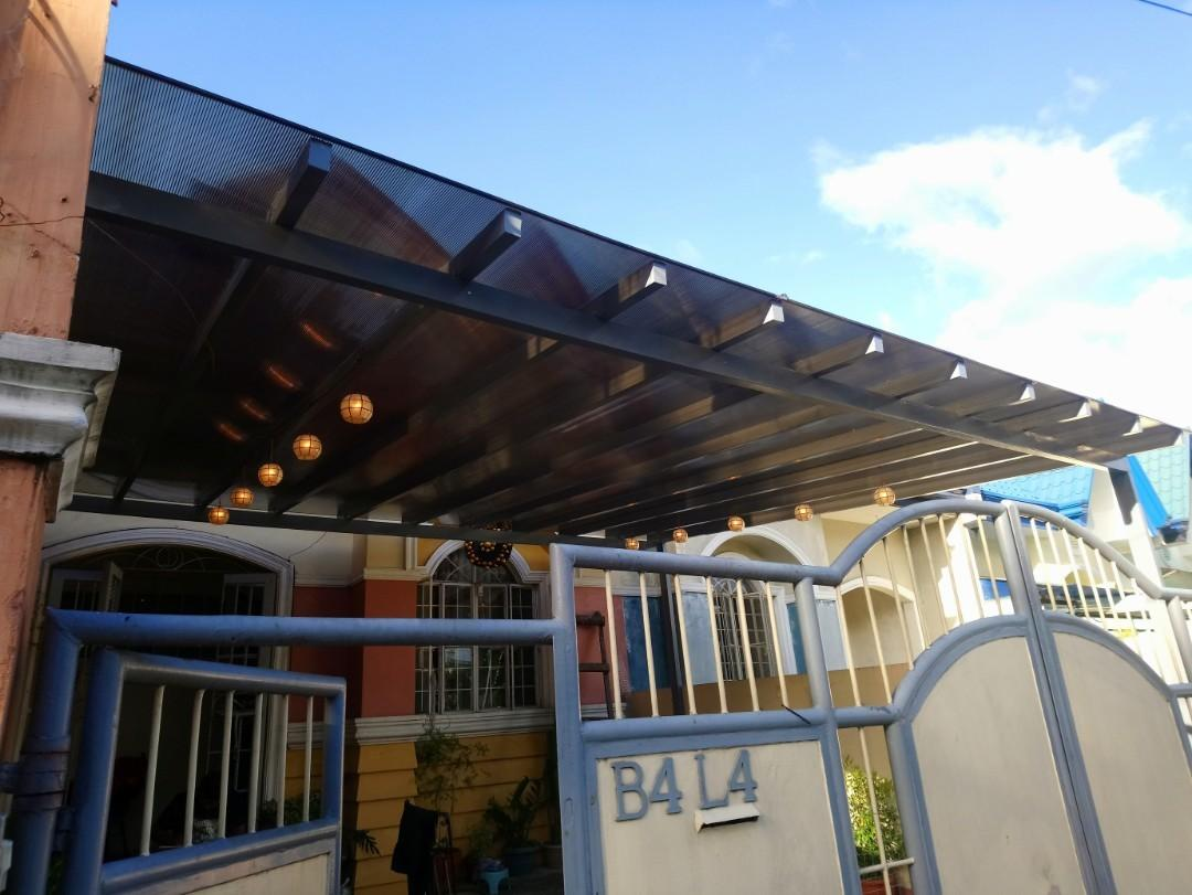 Polycarbonate Roof Construction Industrial Construction Building Materials On Carousell