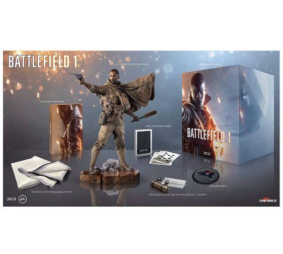 PS4 Battlefield 1 Exclusive Collector's Deluxe Edition