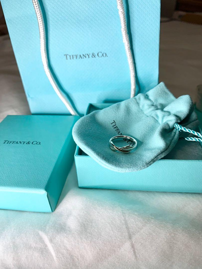 Tiffany & co. infinity ring (sterling silver) 925 size 6.5