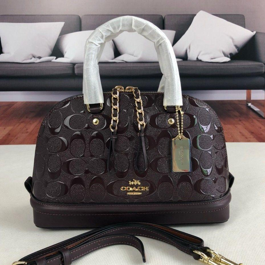 VALENTINE DAYS OFFER 20% OFF (PRICE NOT YET DISCOUNTED)   COACH SIERRA EMBOSSED(POSTAGE ONLY)