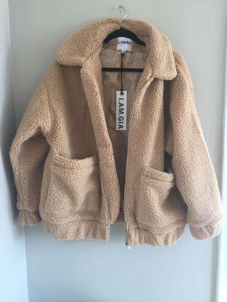 Women's teddy coat never worn
