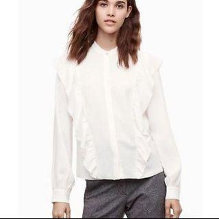 Aritzia Wilfred panthere blouse