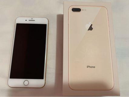 Iphone 8 Plus 64gb (With Free Tempered Glass Screen Protector)