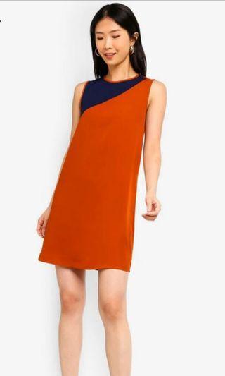 Zalora Basics - Multicolour Shift Dress