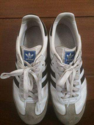 Sepatu Adidas Samba White Original