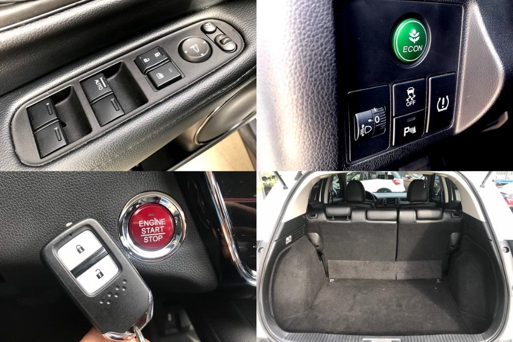 17年 Honda 本田 HR-V 白 F1快排 I-KEY啟動 TV電視 倒車顯影 GPS 純跑2萬KM 過件率高