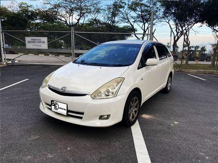 Toyota Wish Grab/Gojek Rental