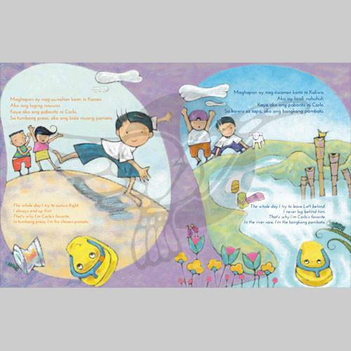 Ako si Kaliwa, Ako si Kanan | Filipino English Bilingual | Adarna House | Children's Book
