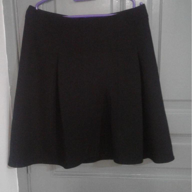 Black Pleated Skirt (LIMITED EDITION MOVE OUT SALE)