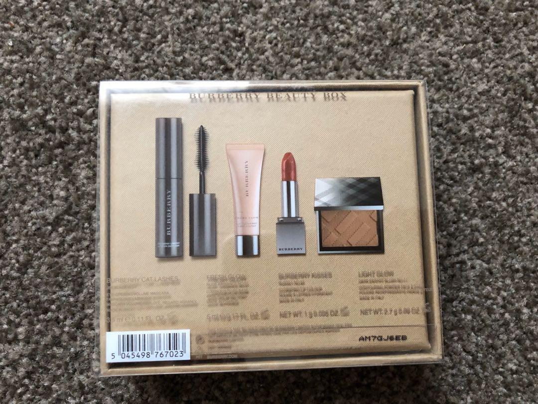 BURBERRY - Beauty Box - Blush, Mascara, Lip Gloss & Lipstick Limited Edition Set