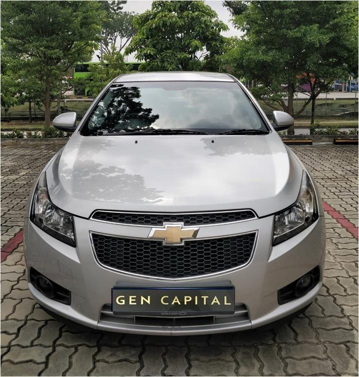 Chevrolet Cruze LAST CNY PROMO! Hurry reserve a car @ 85884811. Cheapest rental in town with just $500 Deposit driveoff immediately!