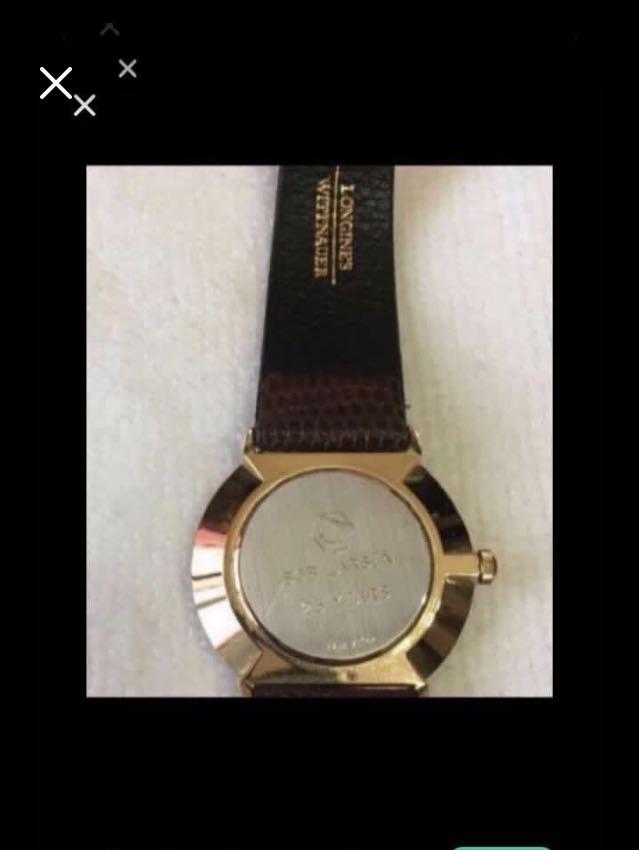 CLEARANCE SALES {Collectibles Item - Vintage Dress Watch} BN Authentic WITTNAUER LONGINES Brand Men Dress Quartz Watch Come With Box & Owner Information And Warranty Booklet