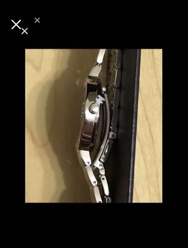 CLEARANCE SALES {Sports Gear - Quartz Watch} BN CRUISE CLUB Brand Ladies Metal Brights Beautiful Dark Blue Dial Crystal Bezel Stainless Steel CaseBack & Bracelet Wrist Quartz Watch