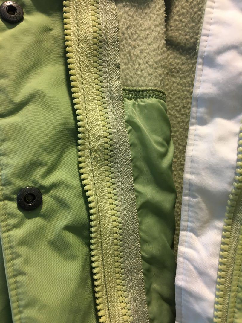 Columbia 哥倫比亞 絕版 連帽防水保暖外套/雪衣 /防風/防水/雙層兩件式
