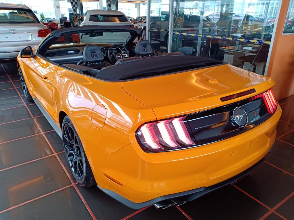 FORD MUSTANG 2.3 ECOBOOST F/L CONVERTIBLE 10-SPEED SPORT EXHAUST B&O SOUND (A) OFFER UNREG 2018